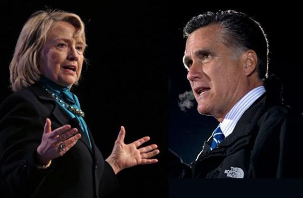 Hillary & Mitt